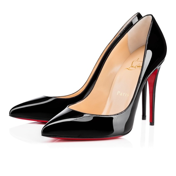 25d2ae3ca591 Christian Louboutin Pigalle Patent 85mm 39.5